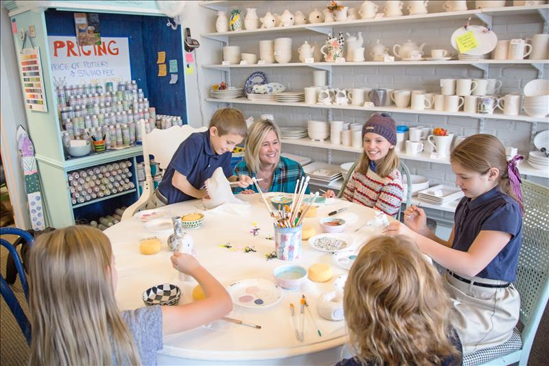 Creativity flows at Cottage Pottery