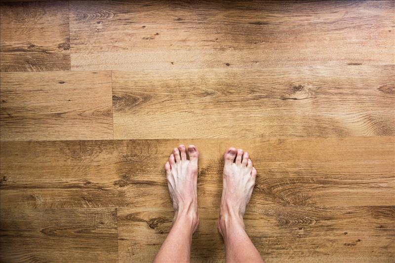 Heated floors for comfortable living