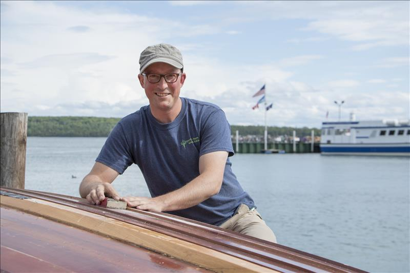 Artisan boatbuilder: Emory Barnwell keeps time-honored traditions alive