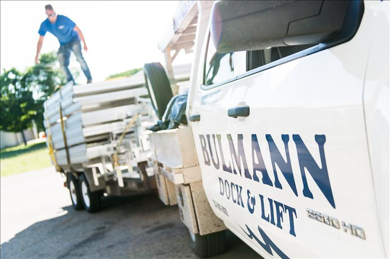 Buhlmann does it all: Makes, delivers, installs and services docks and lifts